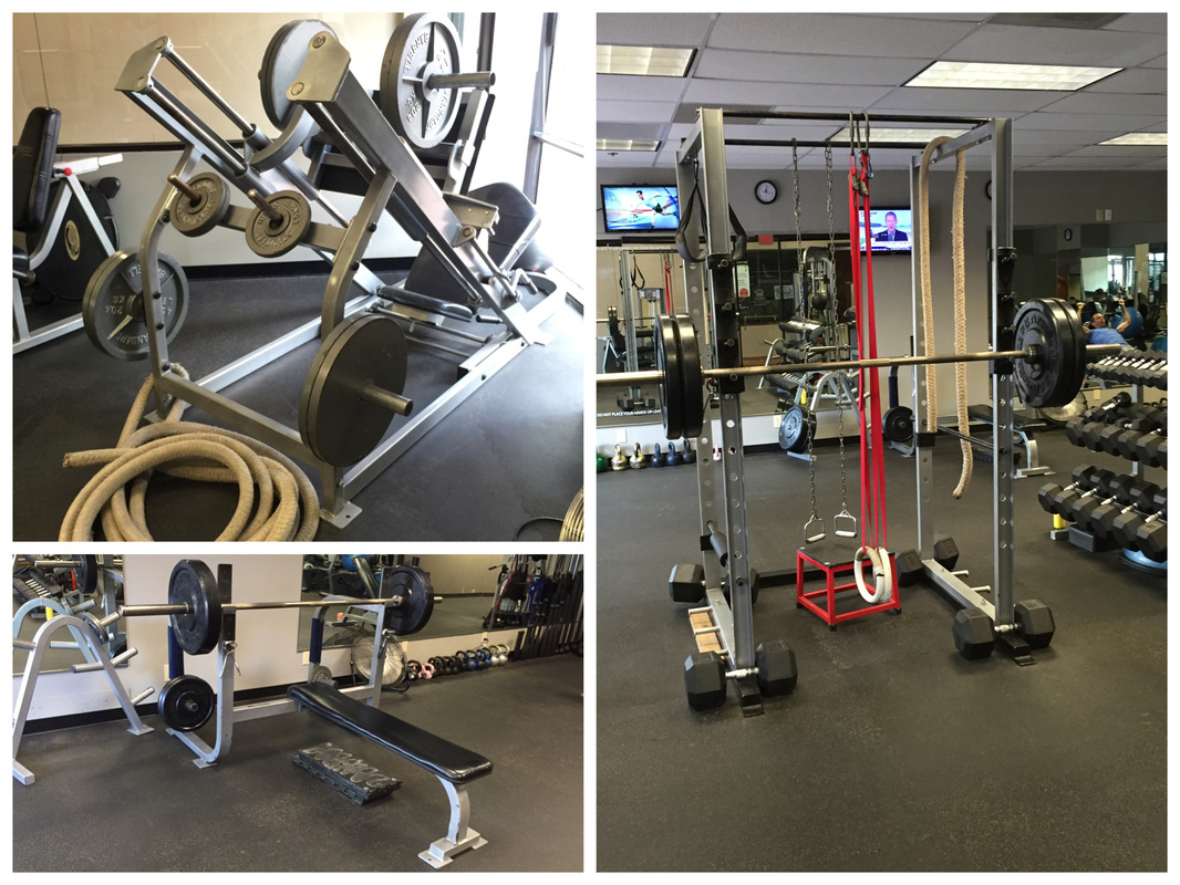 Dallas workout the gym home